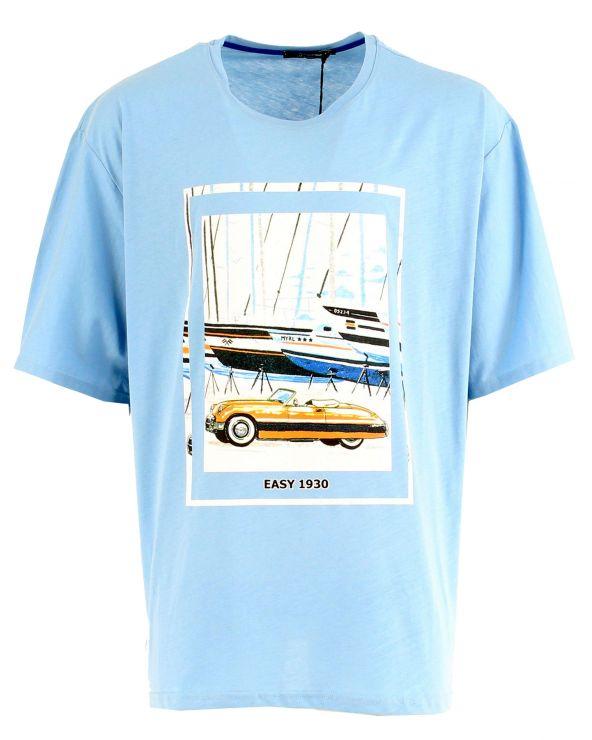 T shirt voiture et bateaux
