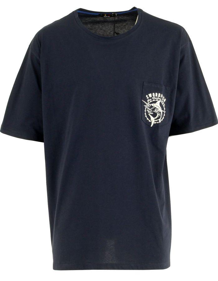 T shirt avec poche Espadon