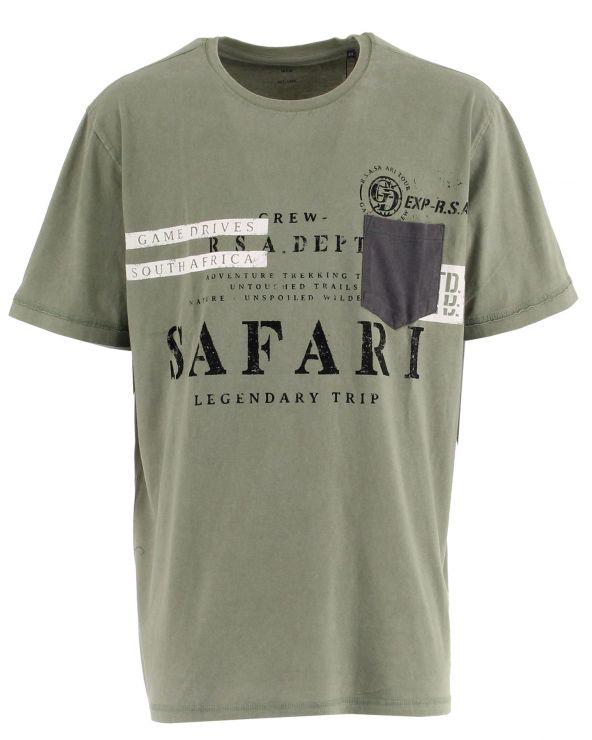 T shirt imprimé avec poche