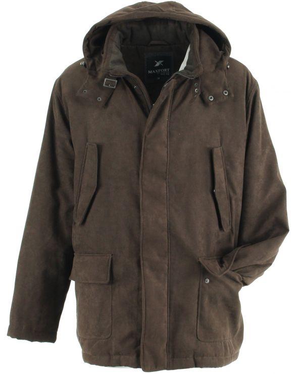 manteau zago a capuche