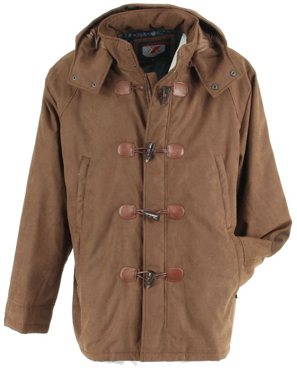 Manteau style dufflecoat