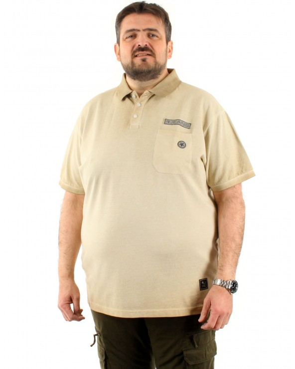 Polo avec poche dégradé