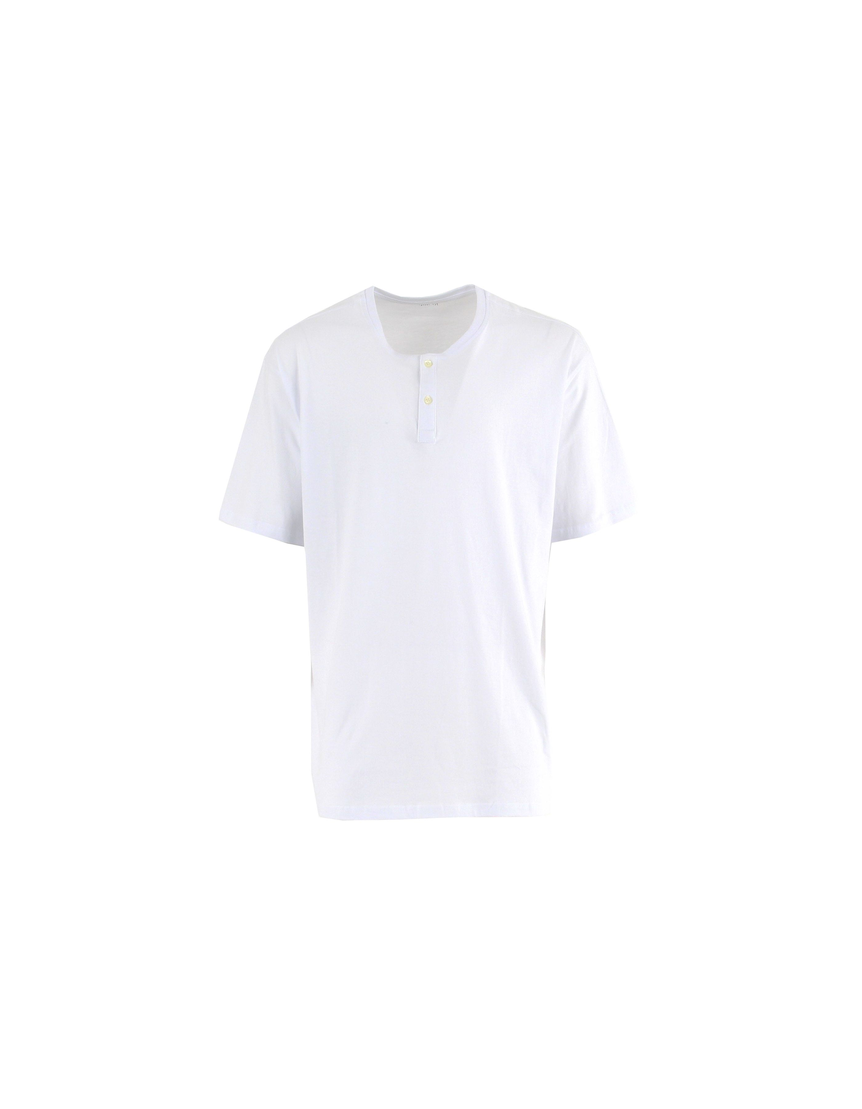 T shirt col tunisien uni