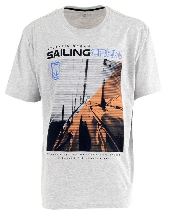 T shirt imprimé SAILING CREW