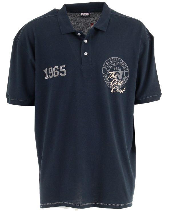 """Polo imprimé """"1965"""""""