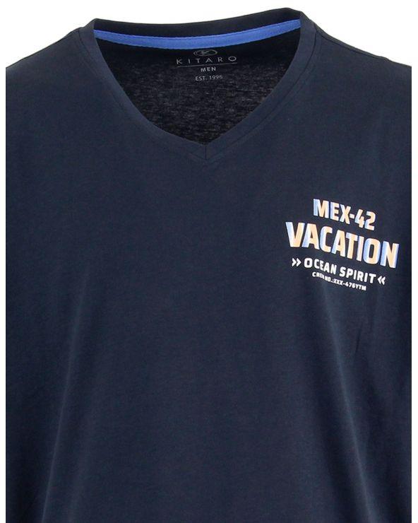 T shirt col V MEX42