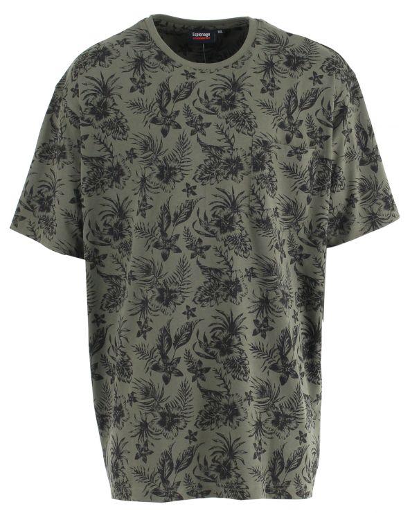 T shirt hawaii avec poche