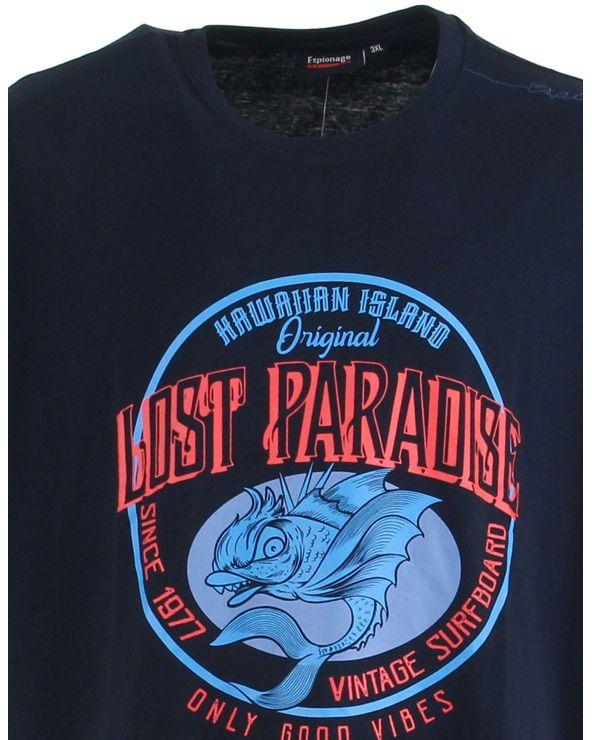 "T shirt ""Lost Paradise"""