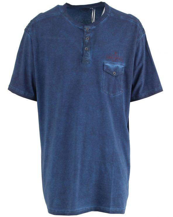 T shirt délavé avec poche