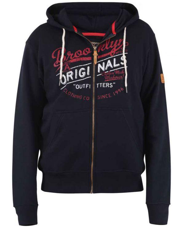 Sweatshirt à capuche zippé ZENNOR