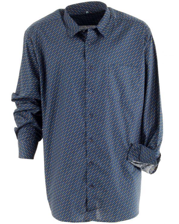 Chemise coton à pois