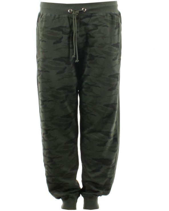 Pantalon de jogging camo avec bas resseré