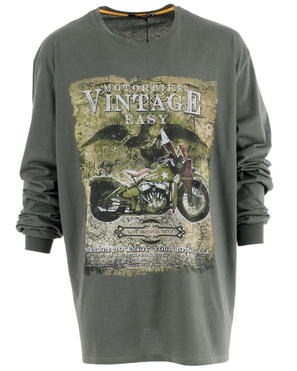 T Shirt manches longues Harley militaire