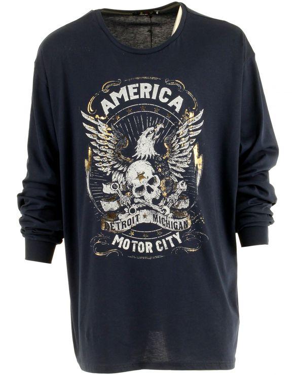 T Shirt manches longues America