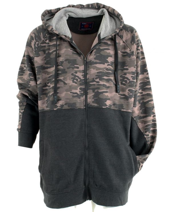 Sweatshirt camouflage à capuche