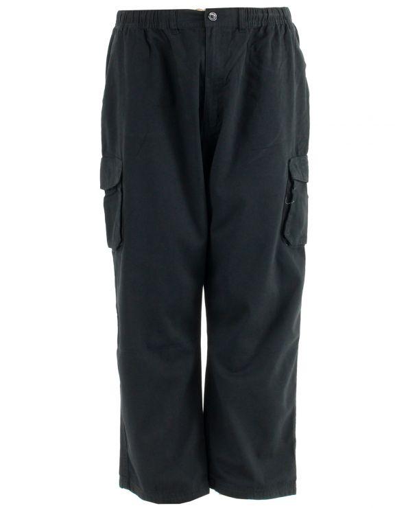 Pantalon cargo taille élastique