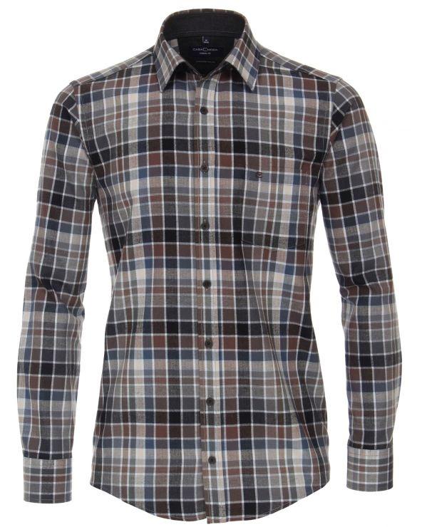 Chemise à petits carreaux flanelle