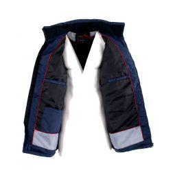Polo manches longues fluide avec poche