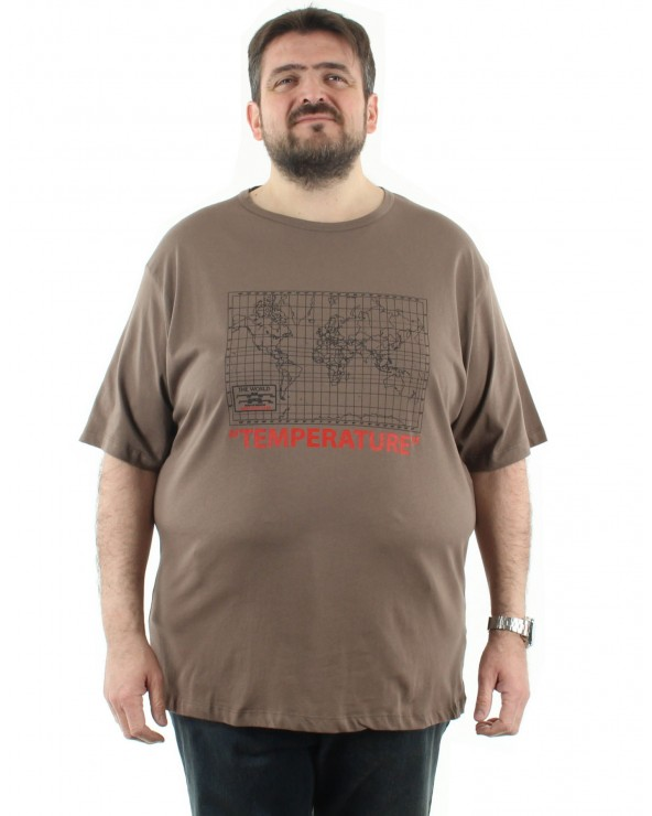 T shirt Climat  Alerte Température