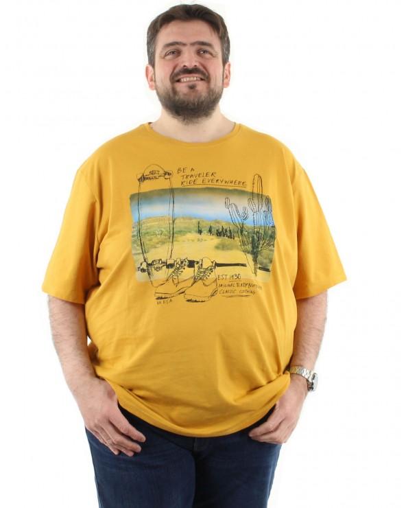 "T shirt imprimé ""Cactus"""