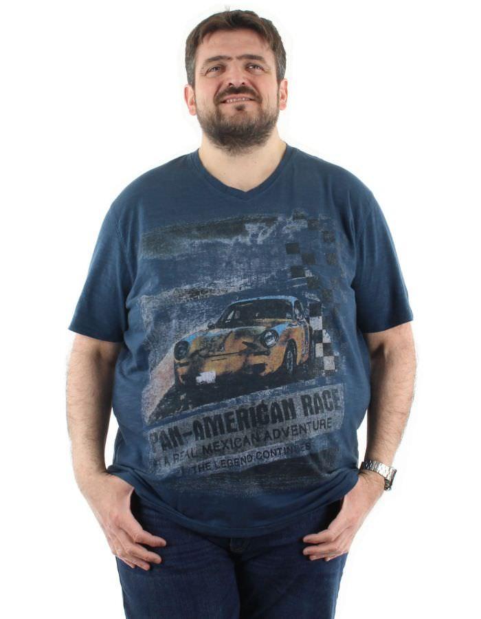 T shirt American race