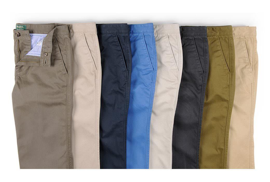 Toutes les couleurs de pantalons chino grande taille sont disponibles sur hommefort.fr