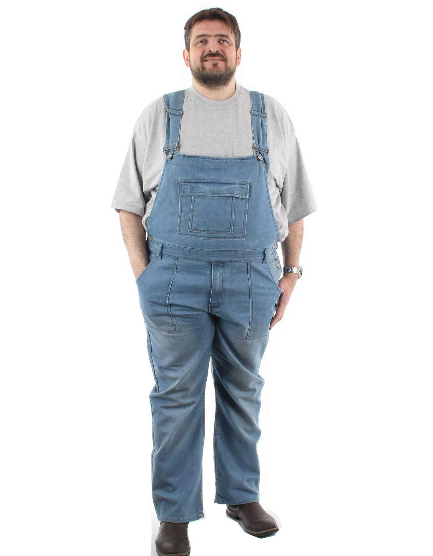 salopetten ejn jean pour homme fort disponible en très grande taille