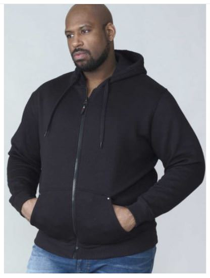 hoodie grande taille pour homme