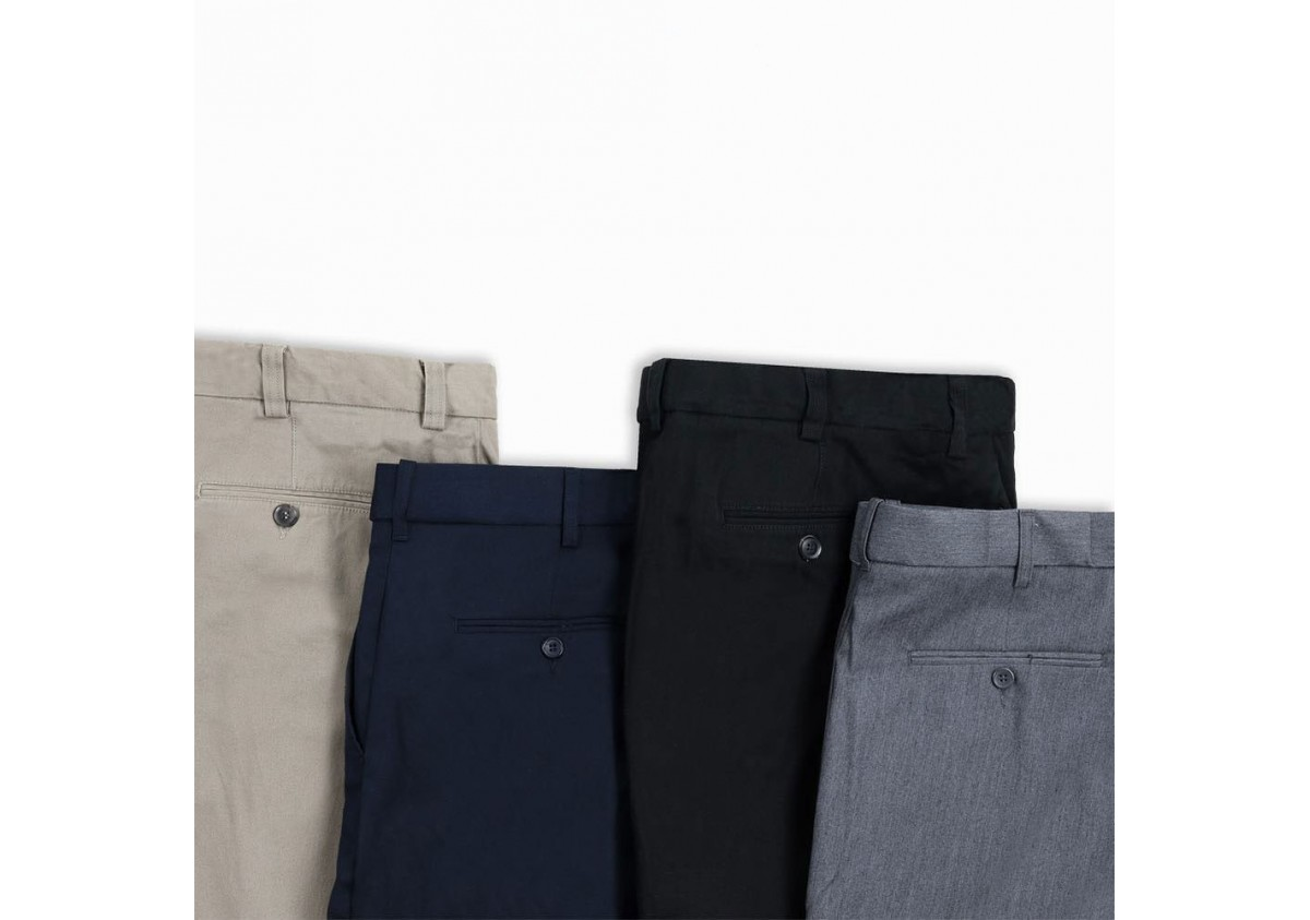 Bien choisir sa coupe de pantalon homme en grande taille